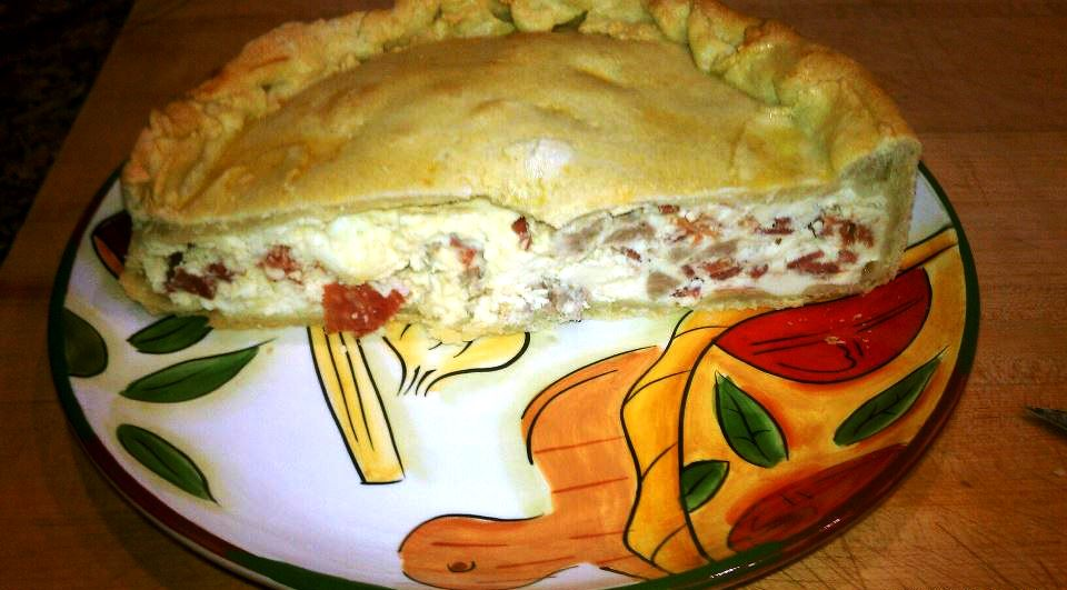 Nancy's Pizza Rustica
