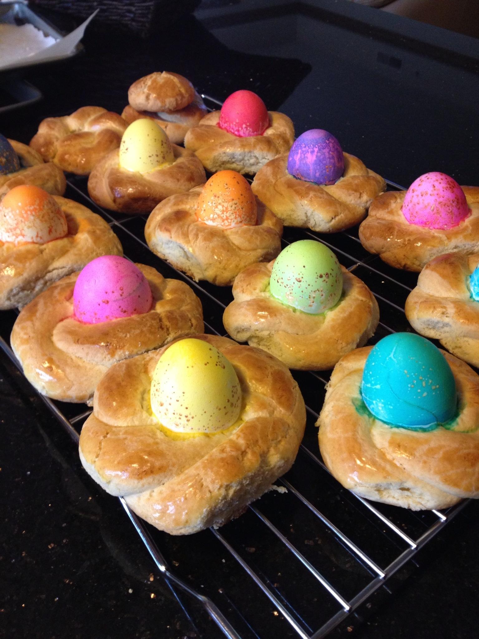Italian Easter Egg Baskets