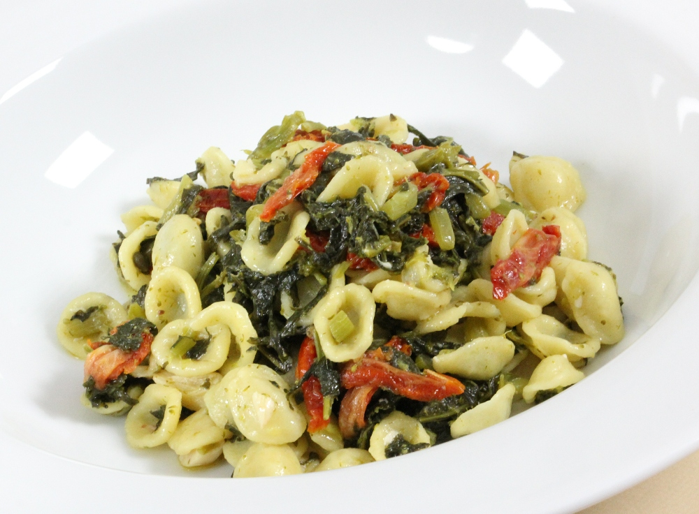 Orecchiette, Broccoli Rabe and Sun-Dried Tomatoes