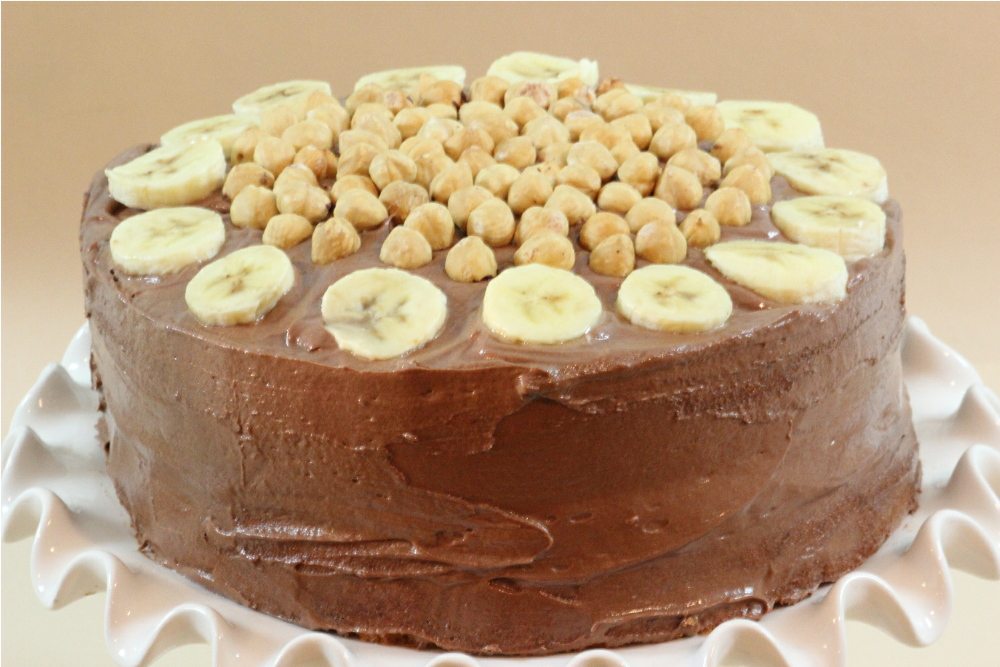 Download image Banana Cake With Nutella Frosting PC, Android, iPhone ...