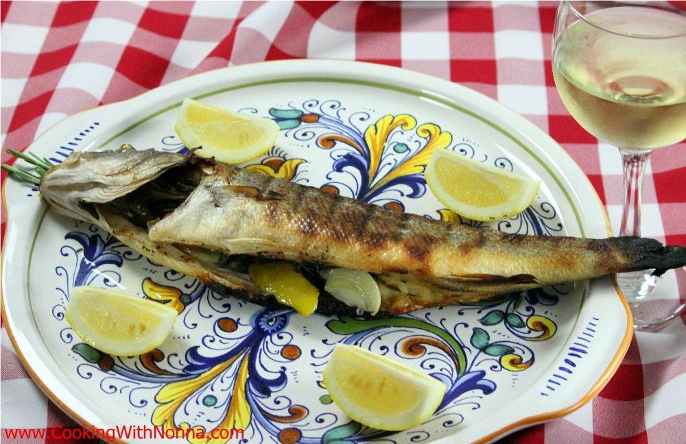 Grilled branzino for Branzino fish recipes