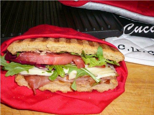 Speck asiago panino for Barbara seelig