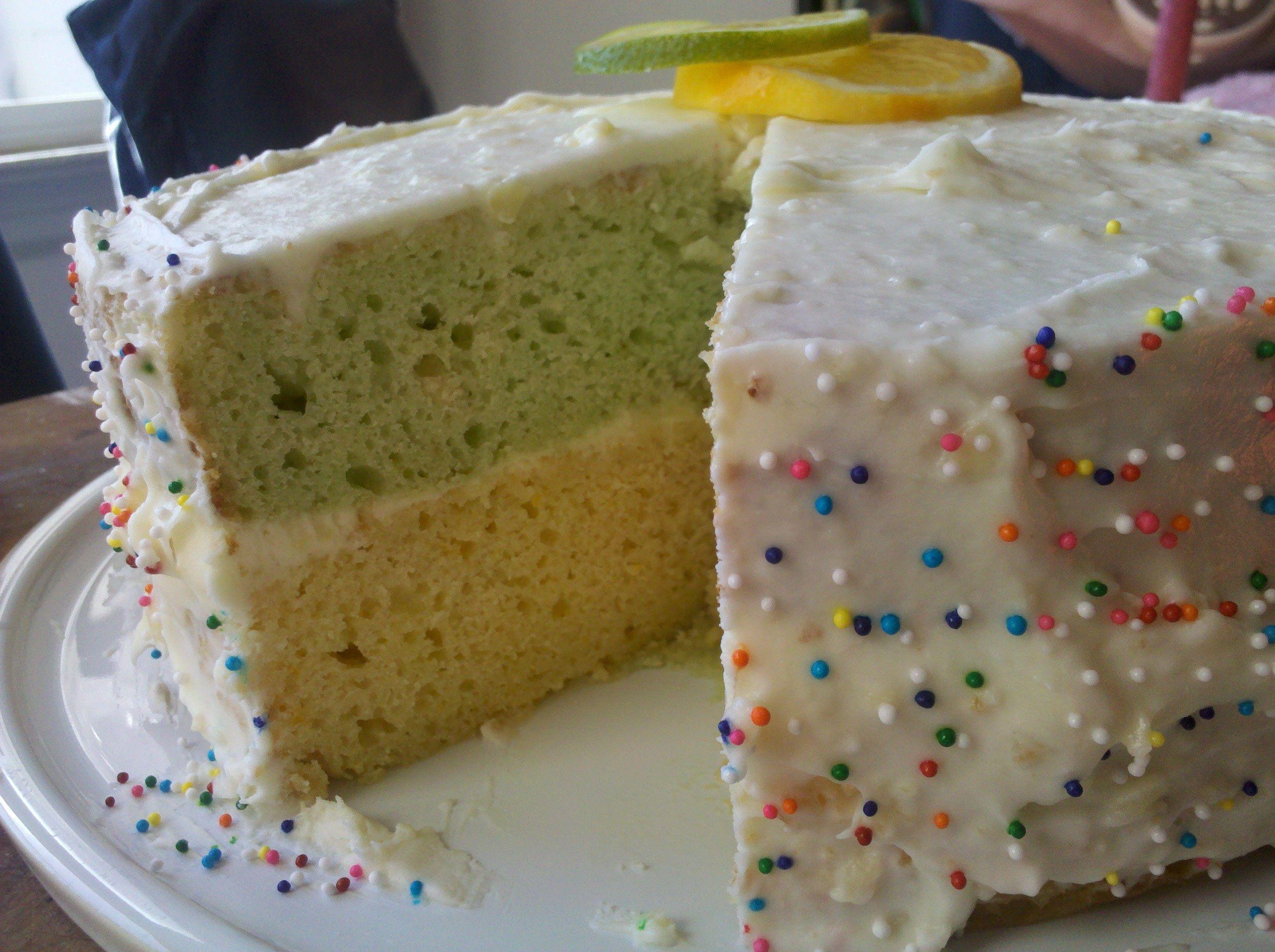 Lemon-Lime Italian Easter Cake
