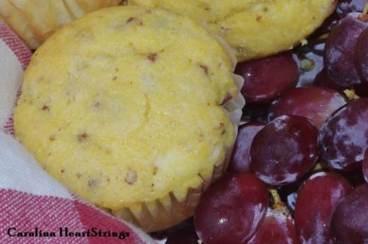 blue cheese bacon corn muffins created by alessa bertoluzzi blue
