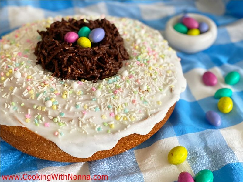 Easter Birds Nest Cake