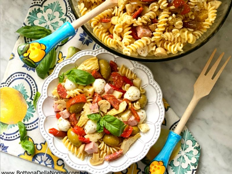 The Italian-American Antipasto Pasta Salad