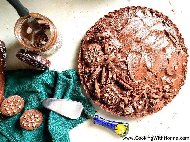 No Bake Pan Di Stelle Tart