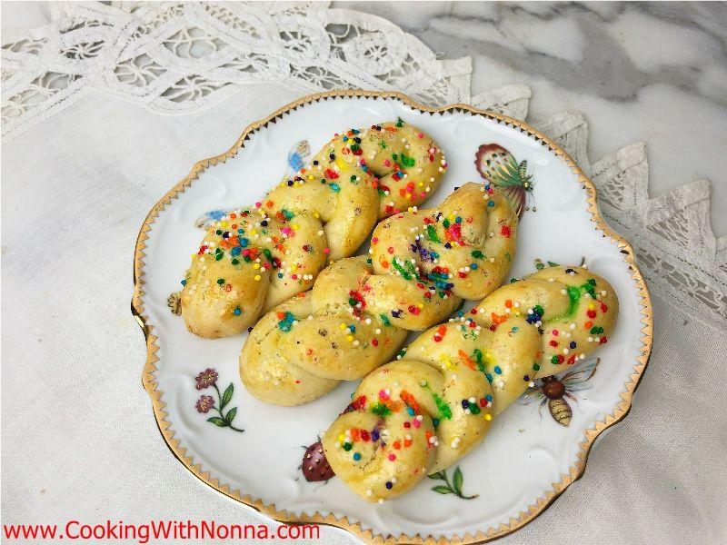Olive Oil Braid Cookies