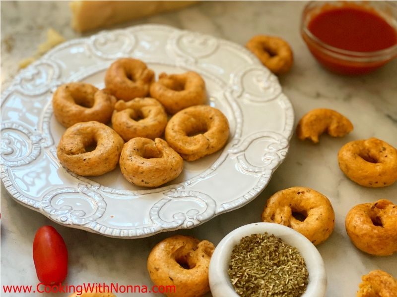 Pizza Flavored Taralli - Taralli alla Pizza