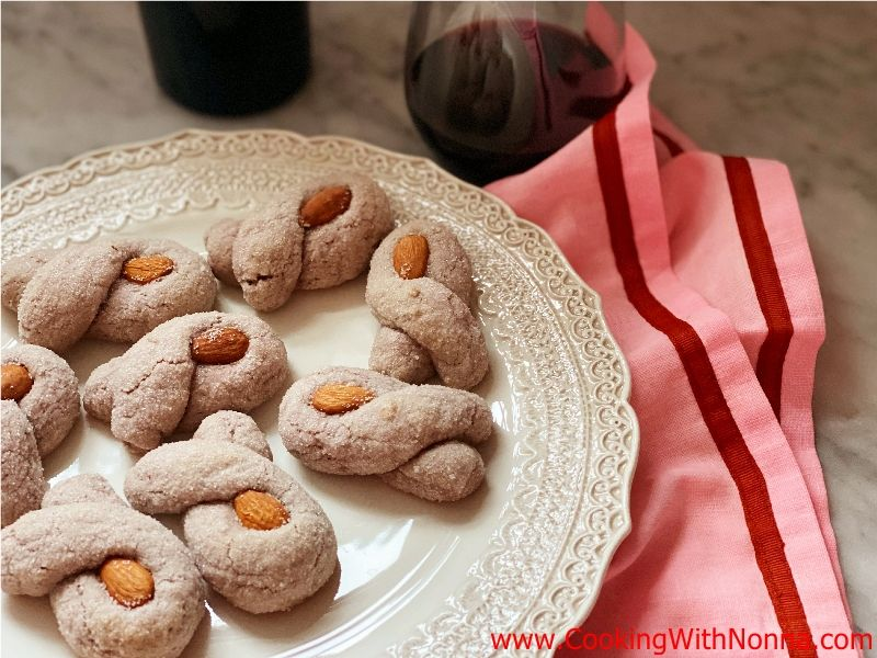 Primitivo Red Wine Cookies