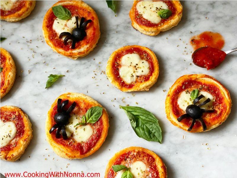 Puff Pastry Mini Pizza