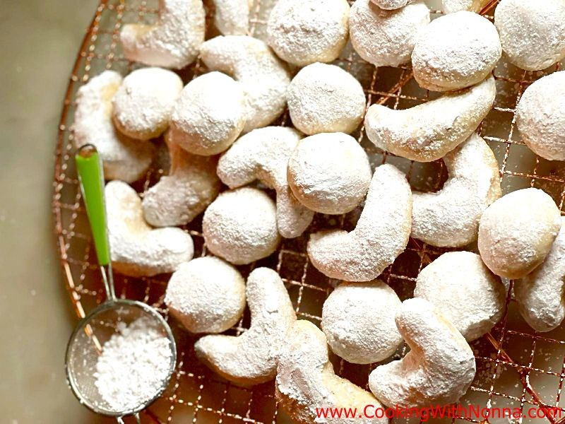 Snowball Cookies - Italian Wedding Cookies