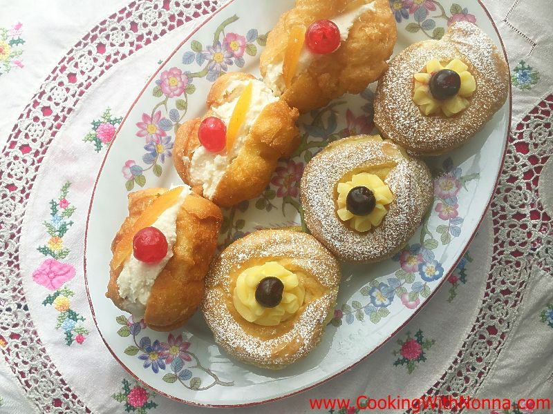 St. Joseph's Zeppole and Sfingi