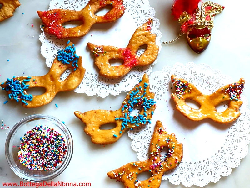 Carnevale Mask Fritters