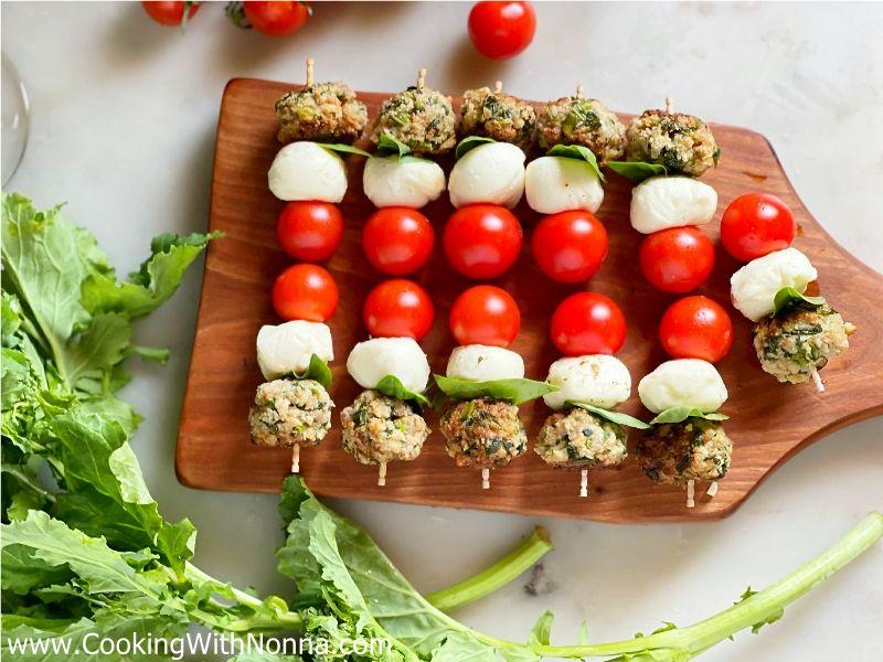 Broccoli Rabe and Italian Sausage Balls