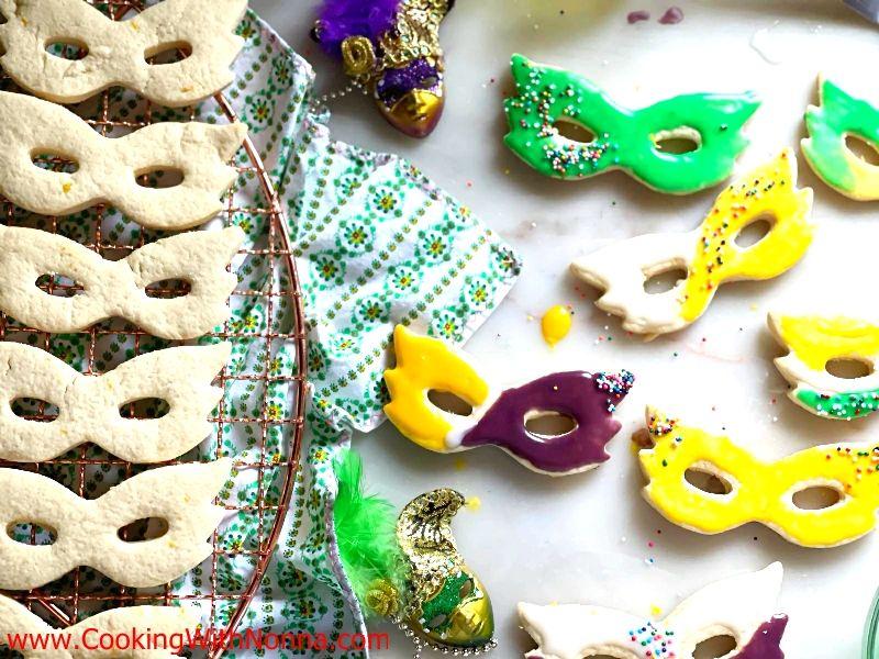 Lemon Mask Sugar Cookies
