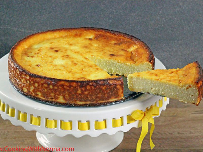 Nonna's Ricotta Cake
