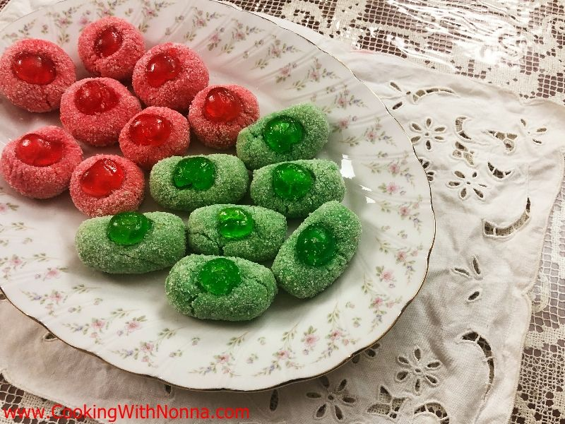 Almond Paste Christmas Cookies