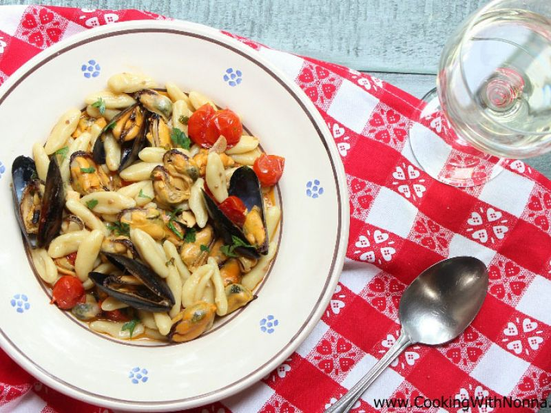 Homemade Cavatelli with Mussels