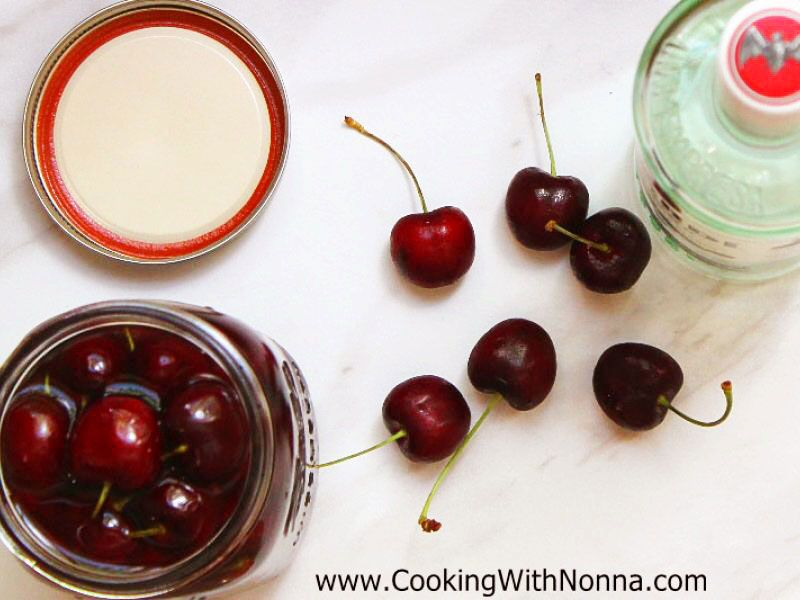 Cherries in Rum