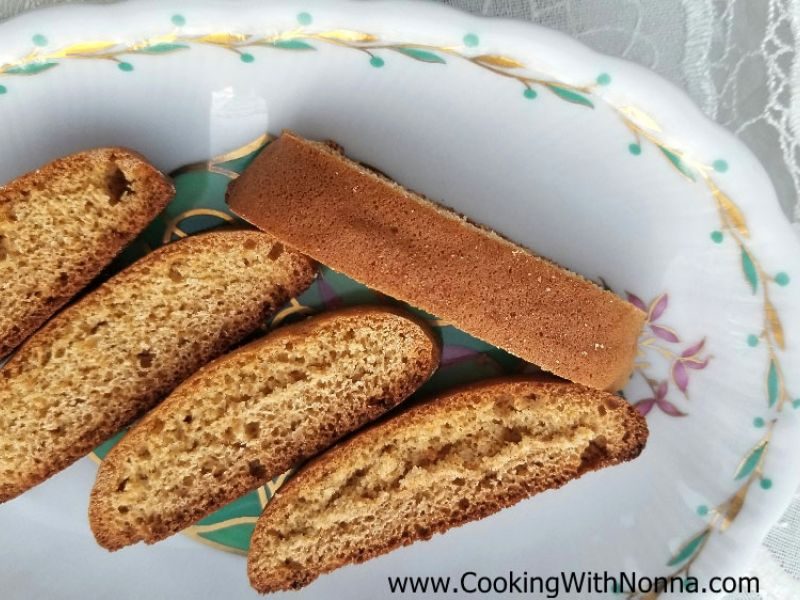 Soft Honey Biscotti