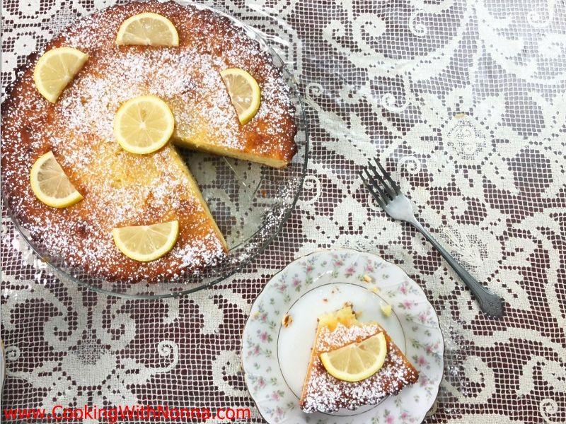 Nonna's Lemon Ricotta Cake