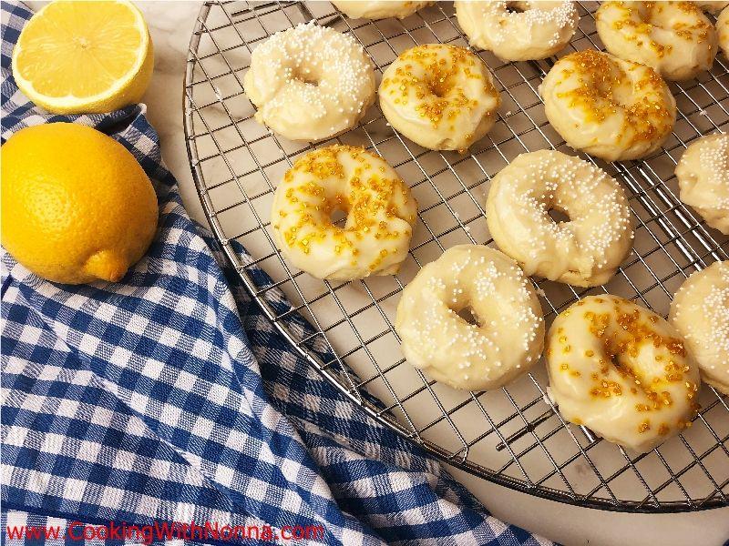 Lemon Ricotta Ring Cookies Recipe