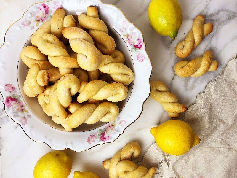 Lemon Twist Cookies