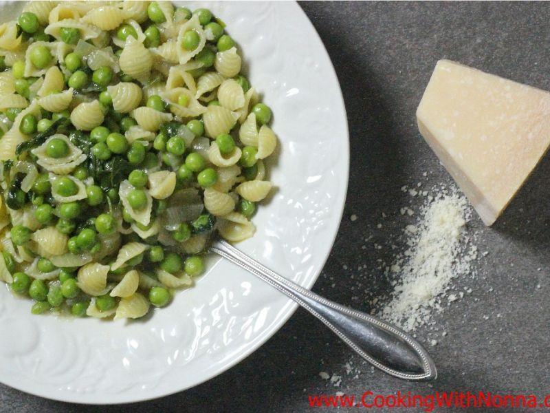 Pasta with Peas - Pasta e Piselli