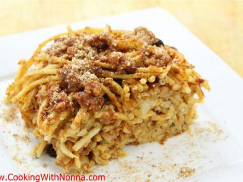 Pasta in Carrozza - Baked Pasta with Cauliflower and Anchovies