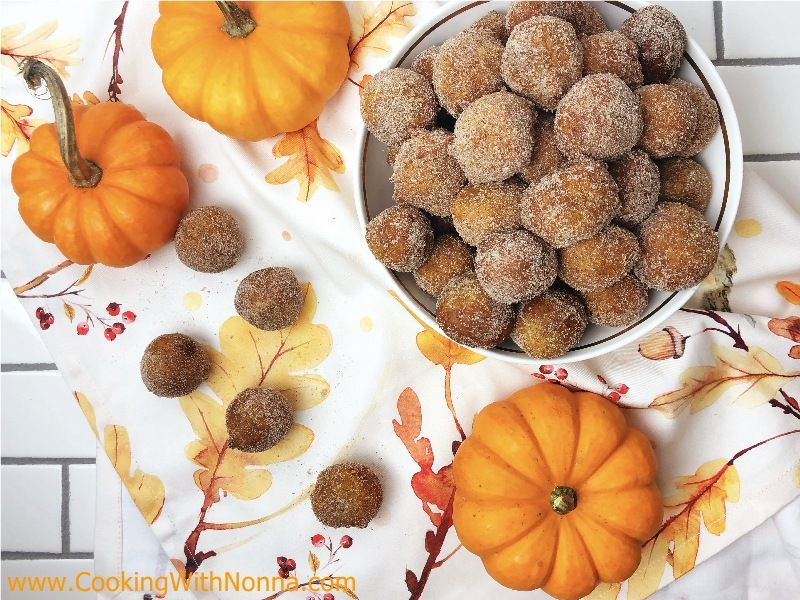 Pumpkin Ricotta Zeppole