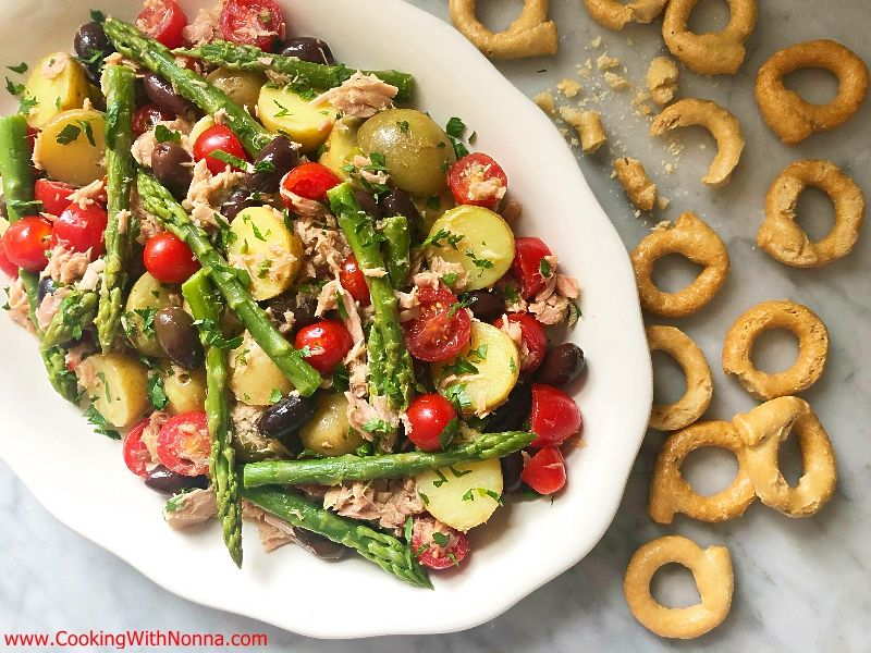 Italian Tuna, Asparagus and Potato Salad