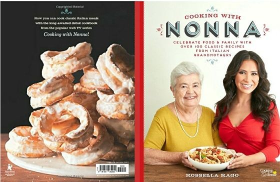 The Cooking with Nonna Cookbook is Available for Pre-Order