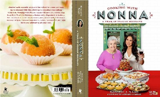 Casting  Call for Nonne to be part of  Rossella's upcoming new Cookbook.