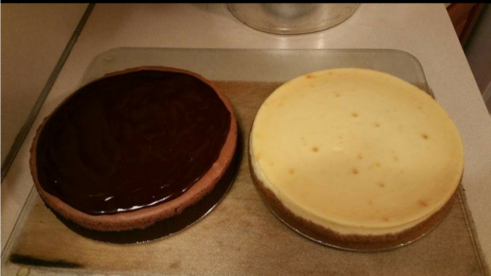 My Pizza Rustica and Cheesecakes