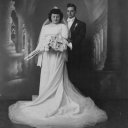 My Nonna Ida and Nonno Felice on their wedding day in 1945!