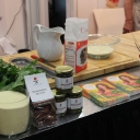 Cooking in the Casillo Booth at the Fancy Food Show!