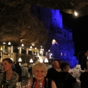 Puglia 2014 - Dinner at Grotta Palazzese