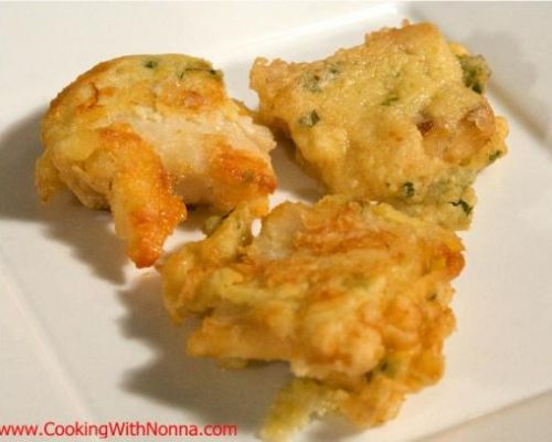 Fried Baccala`