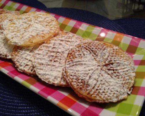 Chestnut Flour Pizzelle (Gluten Free)