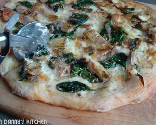 Pizza with Truffled Pecorino