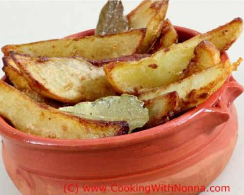 Nonna's Fried Potatoes