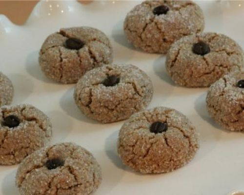Almond  Coffee Cookies