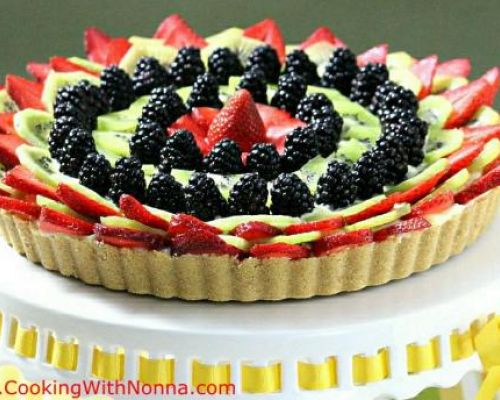 No-Bake Fruit Tart