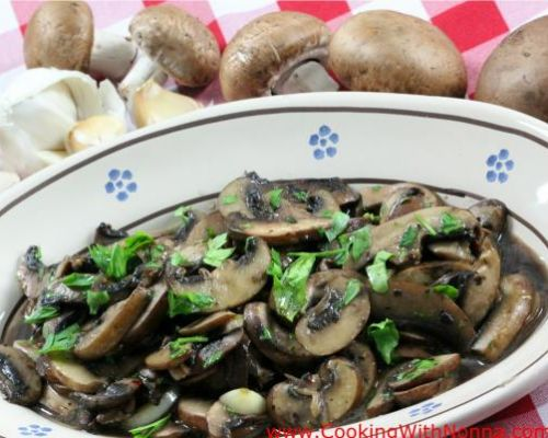 Sauteed Mushrooms - Funghi Saltati