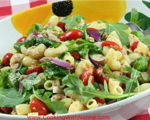 Pasta Salad with Italian Tuna and Arugula
