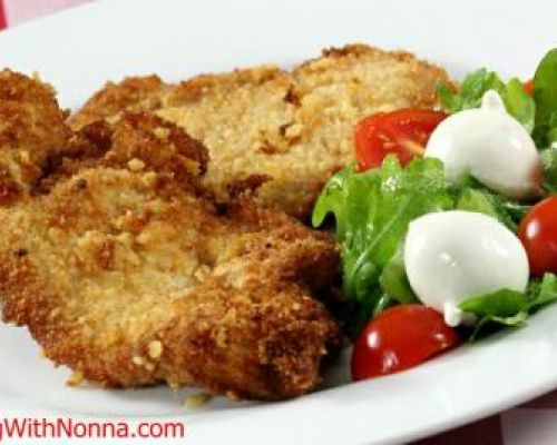 Rossella's Chicken Cutlets