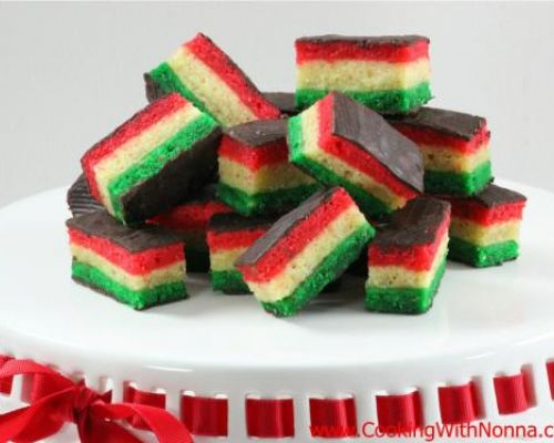 Seven Layer - Rainbow Cookies