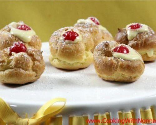 Zabaione Cream Puffs