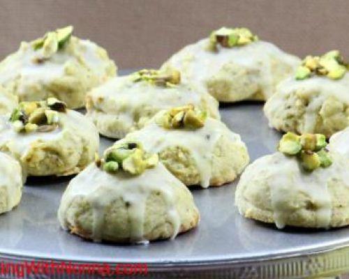 Pistachio Ricotta Cookies